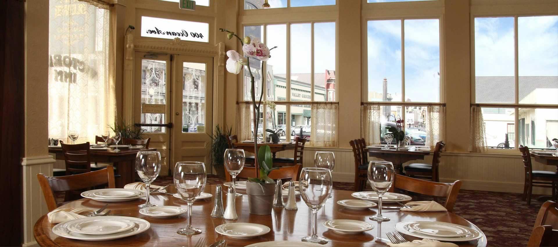 redwood suites Victorian Inn Restaurant